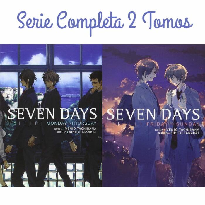 Manga Seven Days, manga yaoi, comprar mangas yaoi, mangas yaoi, comprar manga yaoi