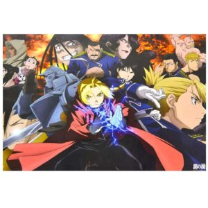 Poster Fullmetal Alchemist, poster anime, poster barato, tienda de posters
