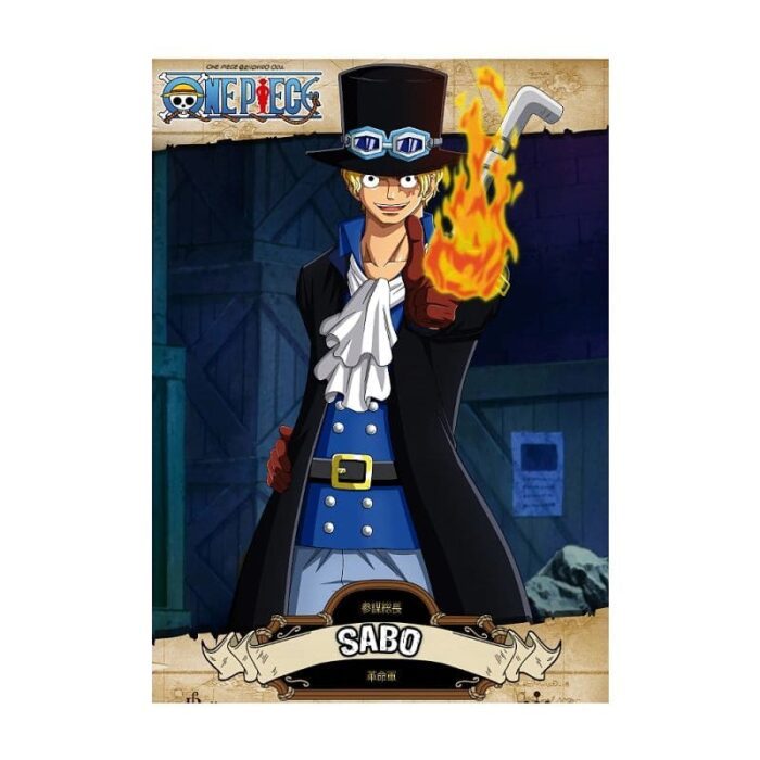 Poster Sabo One Piece, poster anime, posters anime baratos, poster friki, poster barato