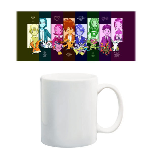 Taza Digimon