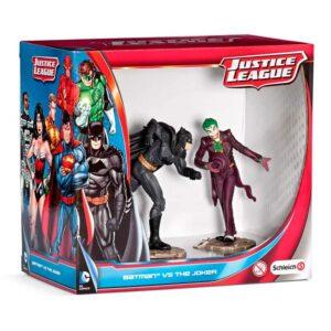Figuras Batman vs Joker Liga de la Justicia DC Comics