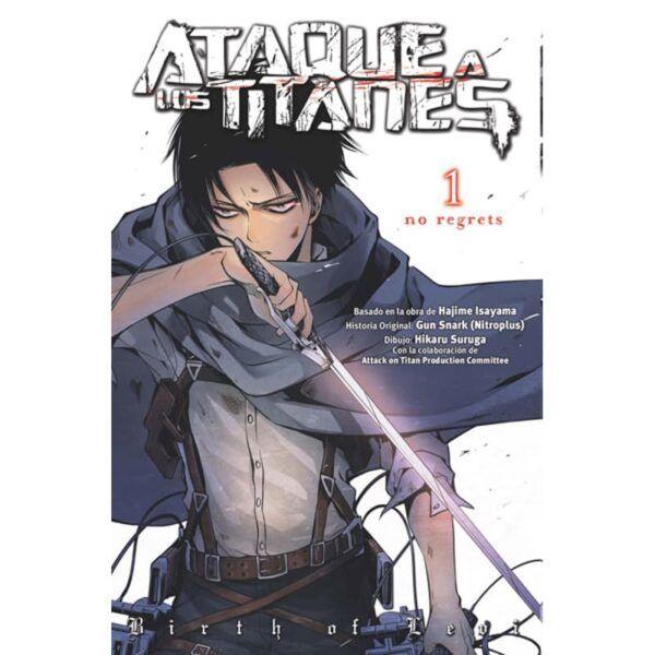 Manga Ataque a los Titanes No Regrets