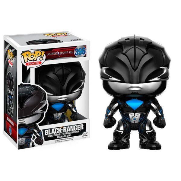 Figura Power Ranger Negro Funko Pop