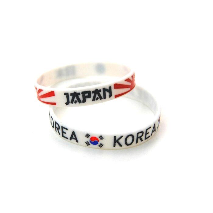 Pulsera Japan Korea, japon, korea, pulseras frikis, pulsera friki, pulseras silicona, japan