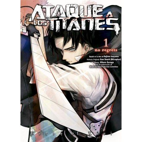 Manga Ataque a los Titanes No Regrets Color