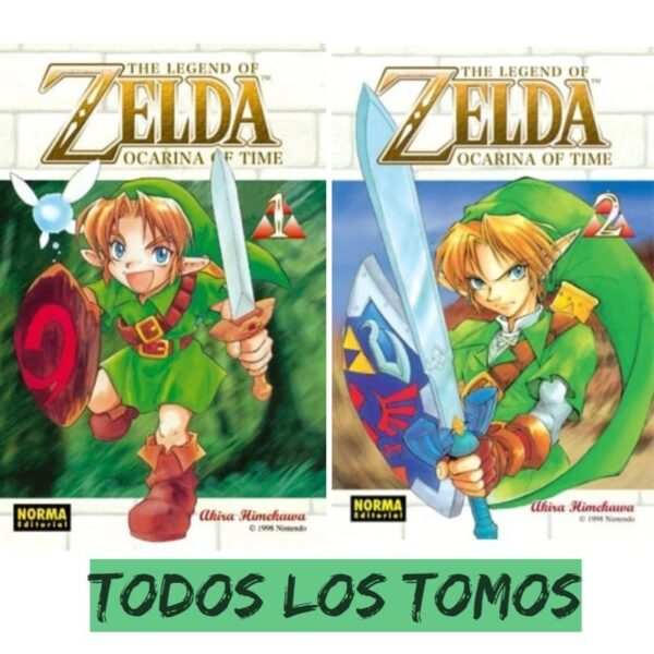 Manga The Legend of Zelda Todos los tomos