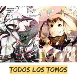 manga bakemonogatari