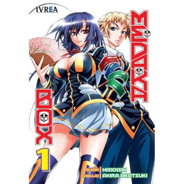 Manga Medaka Box