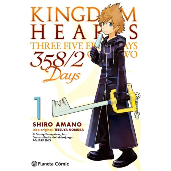 Manga Kingdom Hearts 358/2 Days