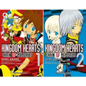 Manga Kingdom Hearts Chain of Memories