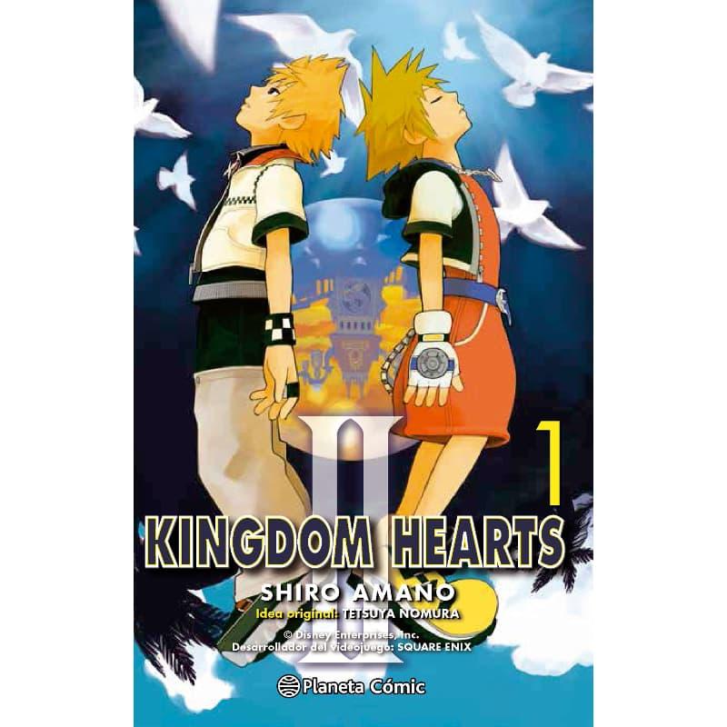 Manga Kingdom Hearts II