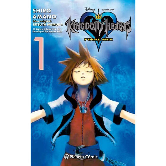 Manga Kingdom Hearts Final