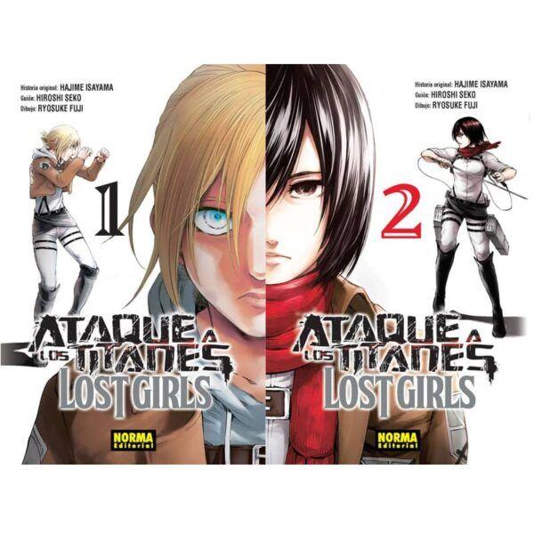 Manga Ataque a los Titanes Lost Girls