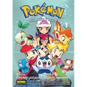 Manga Pokémon Diamante y Perla