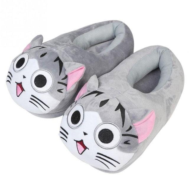 Pantuflas chi gato kawaii elius zapatillas andar por casa originales - Zapatillas andar por casa originales ...