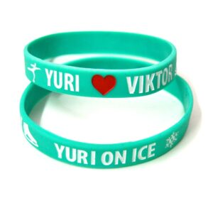 yuri on ice, pulsera yuri on ice, pulseras anime, pulsera anime, anime, yuri on ice, pulseras frikis