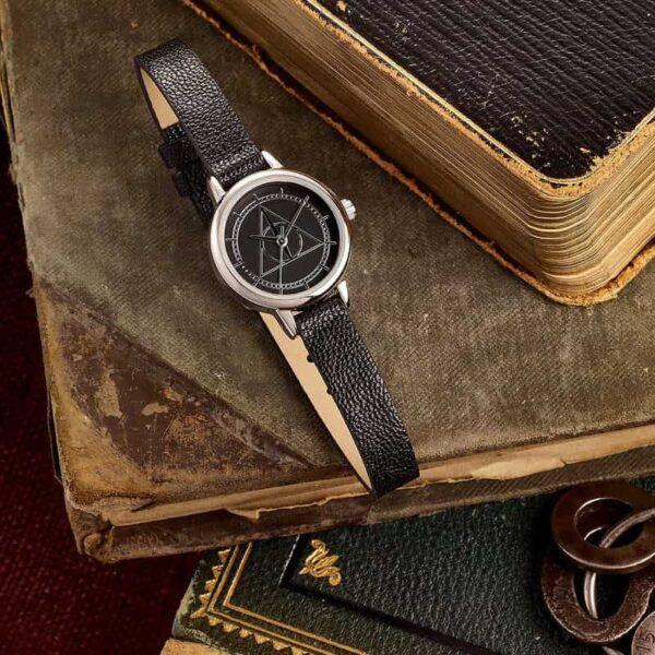 Reloj Harry Potter, reliquias de la muerte, harry potter, relojes frikis