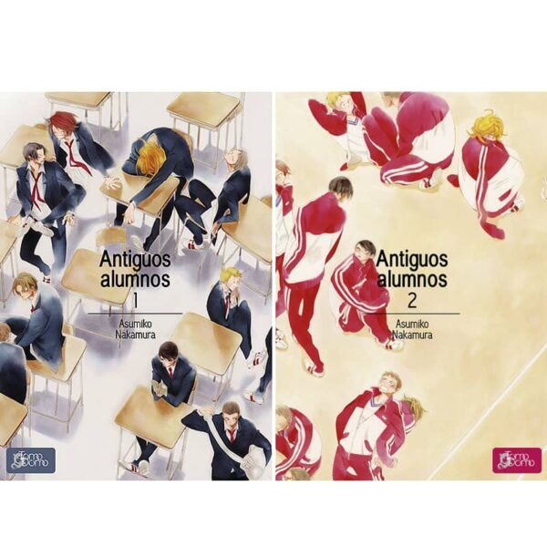 Manga Antiguos Alumnos