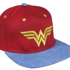 Gorra Wonder Woman Visera Plana