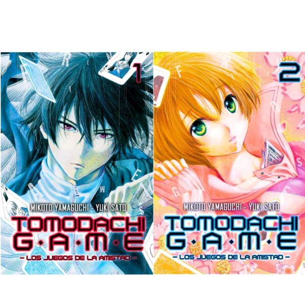 Manga Tomodachi Game