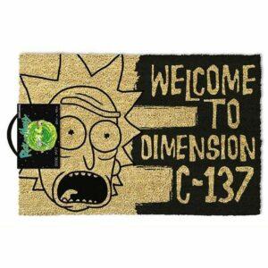 Felpudo Rick y Morty