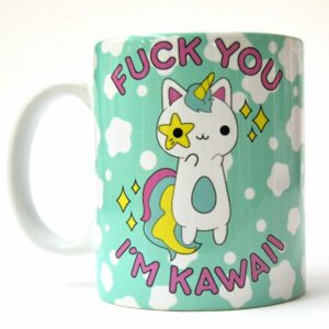 Taza Fuck You I'm Kawaii