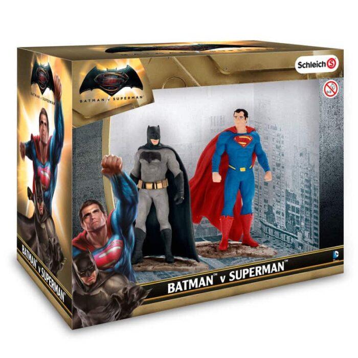 Figuras Batman y Superman DC Comics