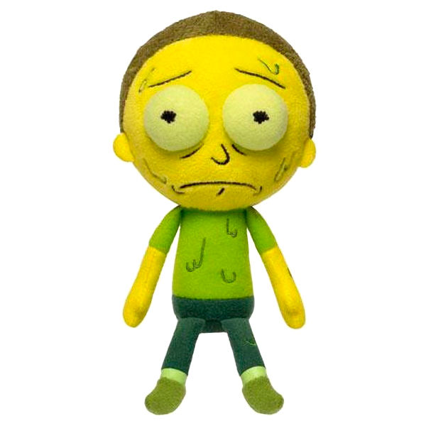 Peluche Morty Rick y Morty
