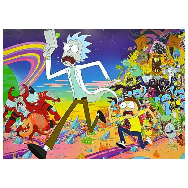 Poster Rick y Morty