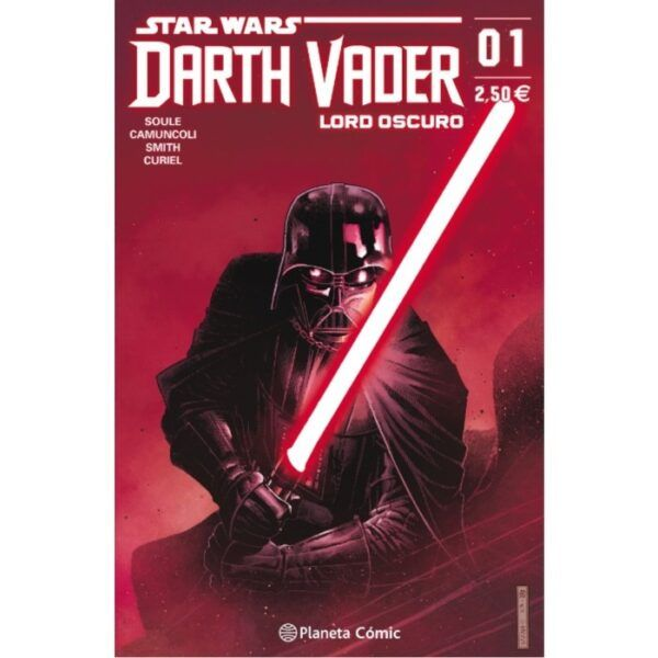 Comic Darth Vader Lord Oscuro