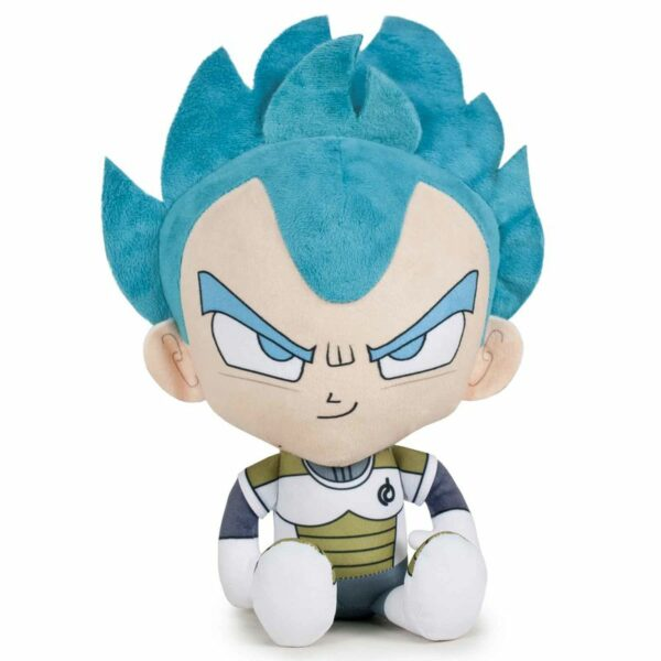 Peluche Dragon Ball Vegetta Saiyan Blue