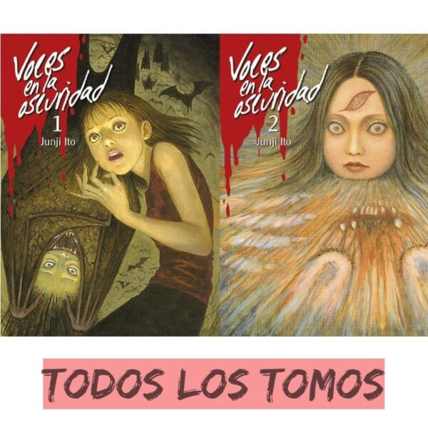 Manga Voces en la Oscuridad Junji Ito | ELIUS - Mangas Junji Ito