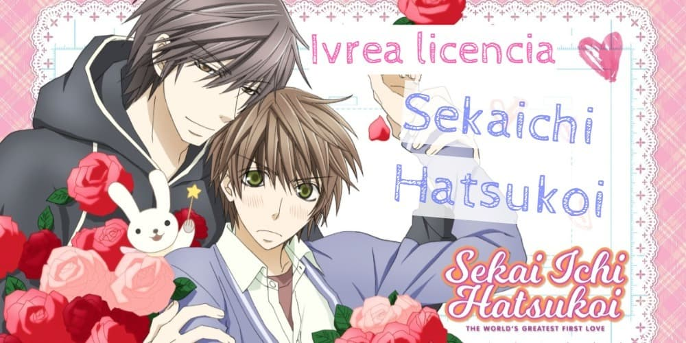 Ivrea licencia Sekaiichi Hatsukoi