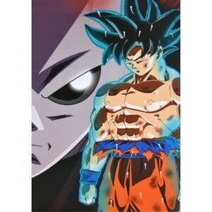 Poster Dragon Ball Goku Ultra Instinct