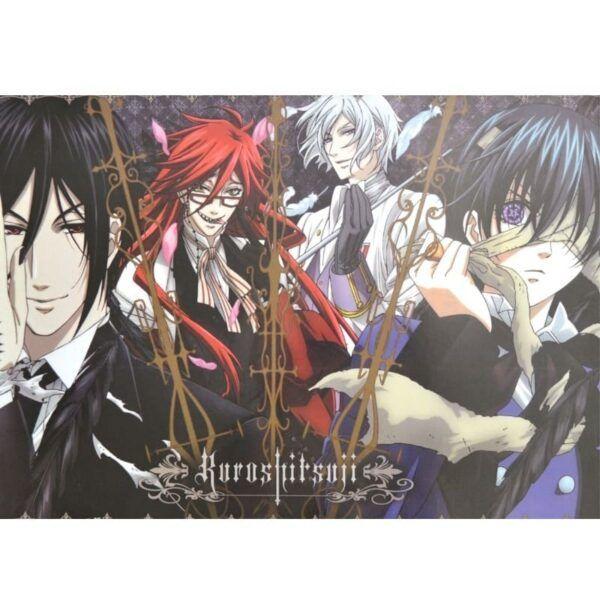 Poster Black Butler, poster kuroshitsuji