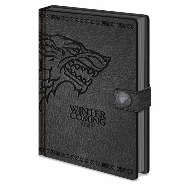 Cuaderno Juego de Tronos Stark Premium A5