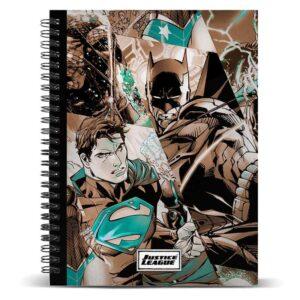 Cuaderno Liga de la Justicia
