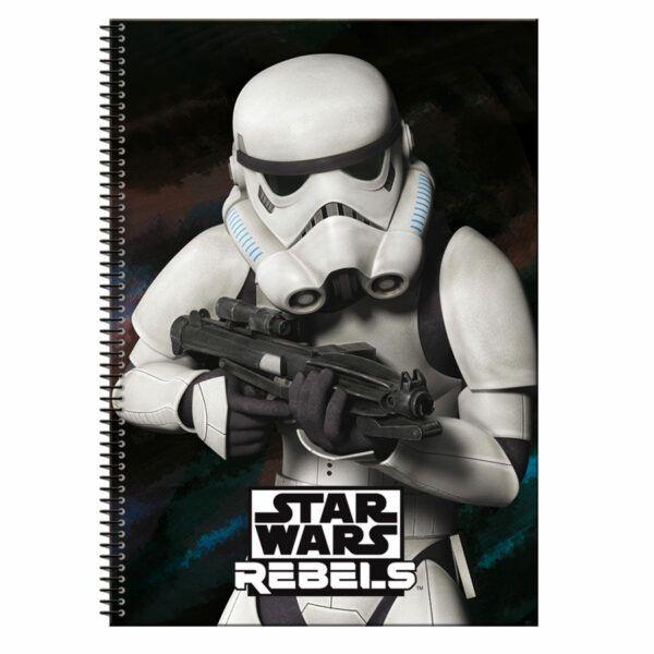 cuaderno rebels star wars