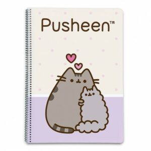 Cuaderno Pusheen