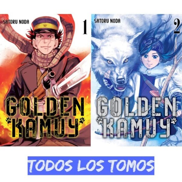 manga golden kamuy
