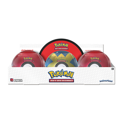 Caja Pokeball Sobres Pokemon