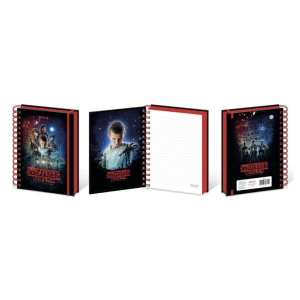 Cuaderno Stranger Things A5