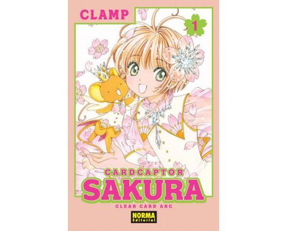 Manga Card Captor Sakura Clear Card Arc