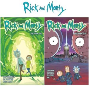 rick y morty comic
