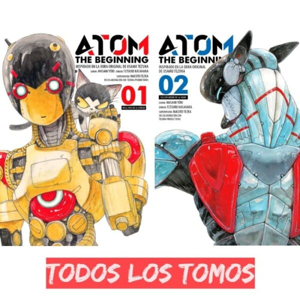 Manga ATOM The Beginning