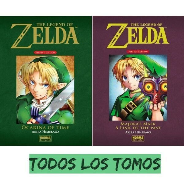 Manga The Legend of Zelda Perfect Edition