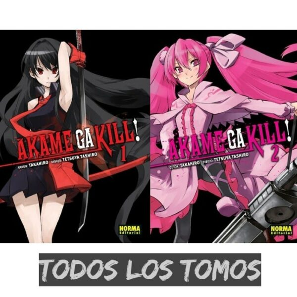 Manga Akame ga Kill Todos los tomos