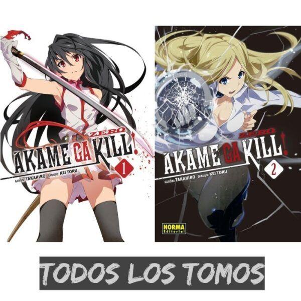 Manga Akame ga Kill Zero Todos los tomos