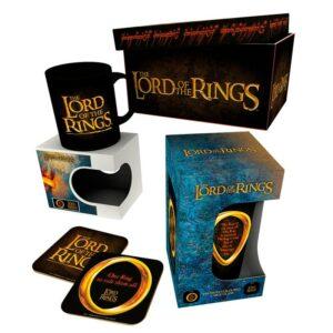 caja regalo señor anillos
