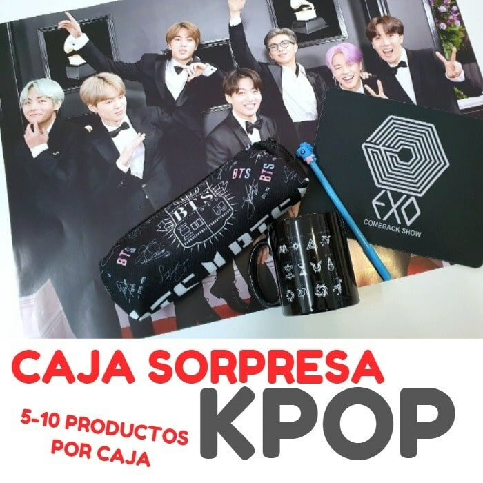 caja sorpresa kpop